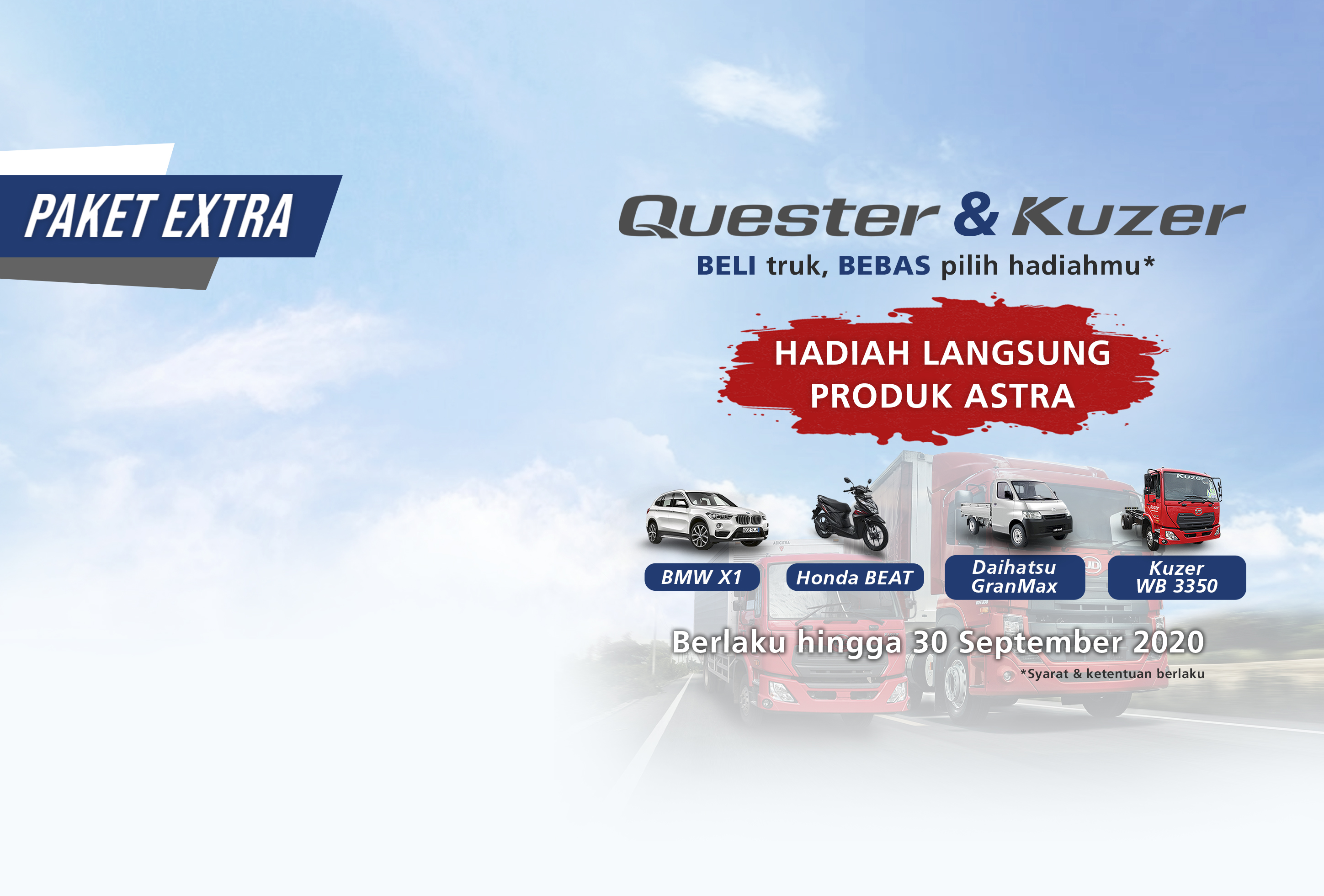 Quester & Kuzer Extra Packages