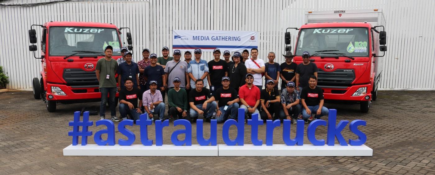 Astra UD Trucks Unjuk Kehandalan Performa Produk Kuzer RKE 150 dan Kesiapan Pelayanan bagi Pasar Indonesia