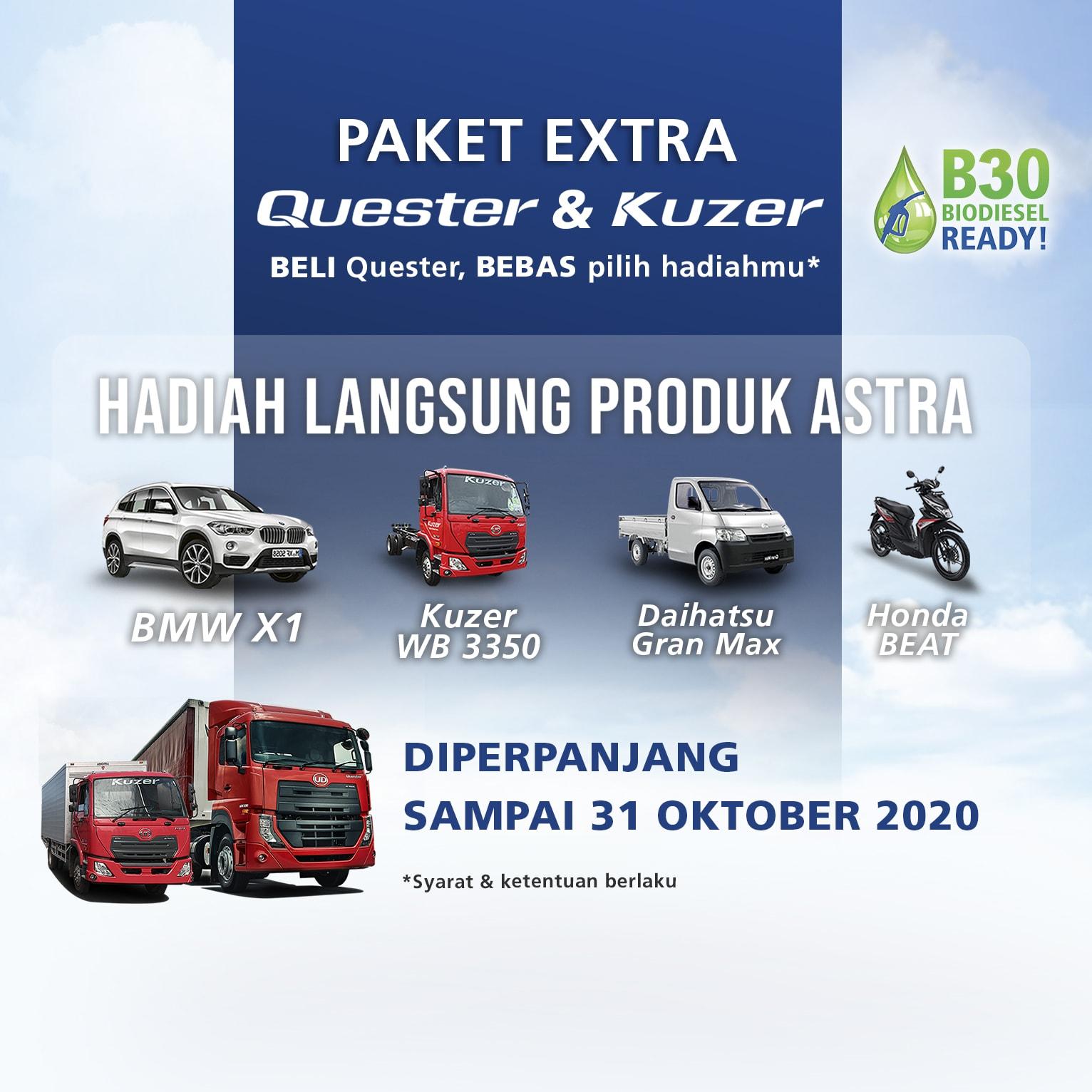Paket Extra Quester & Kuzer