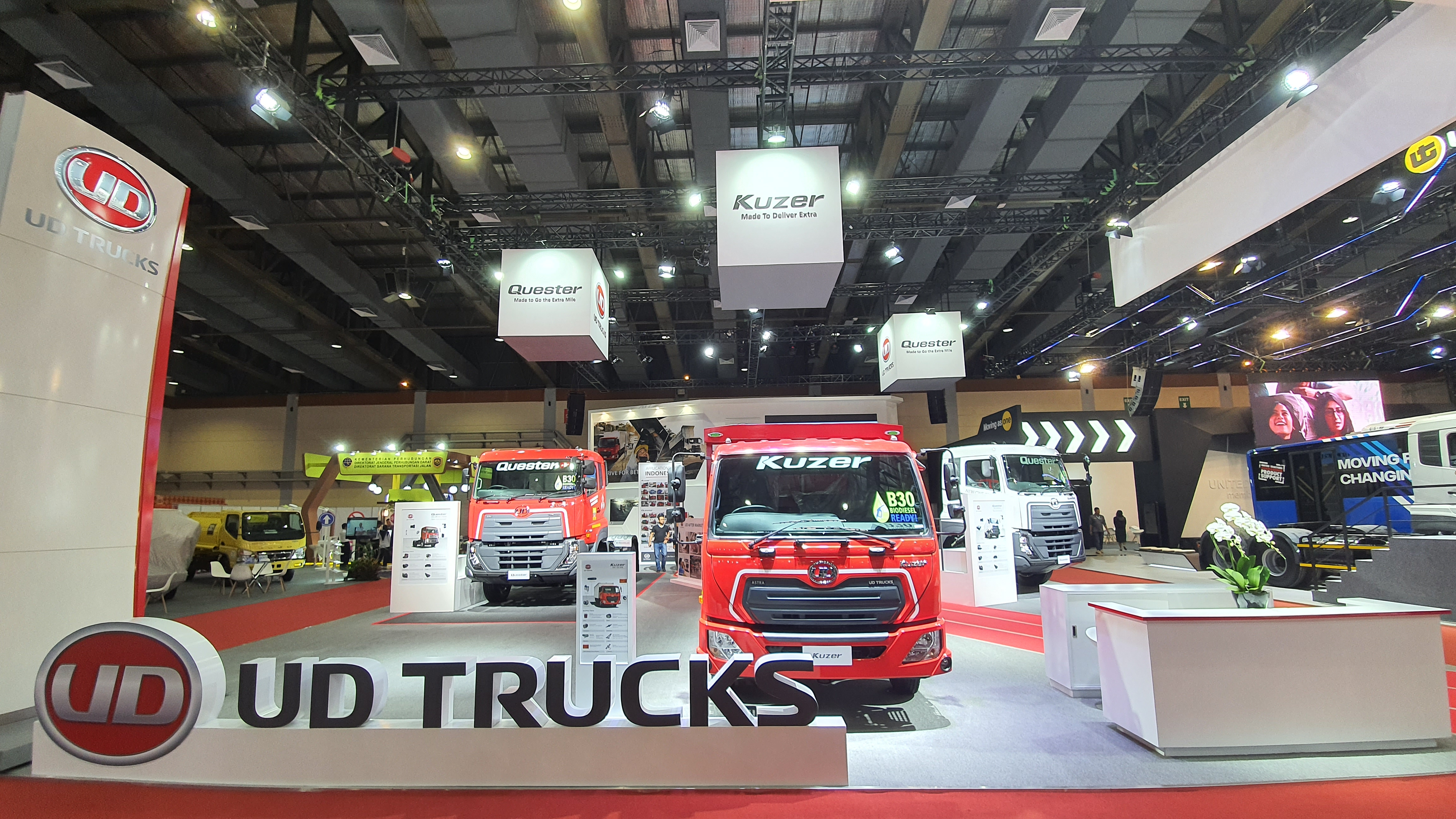 UD Trucks Showcases Kuzer & New Quester at the GIICOMVEC 2020 Event
