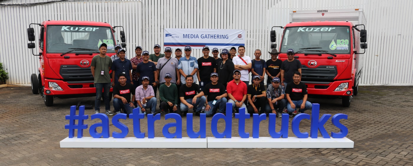 Astra UD Trucks Shows Reliability of RKE 150 Kuzer Product Performance and Service Readiness for the Indonesian Market