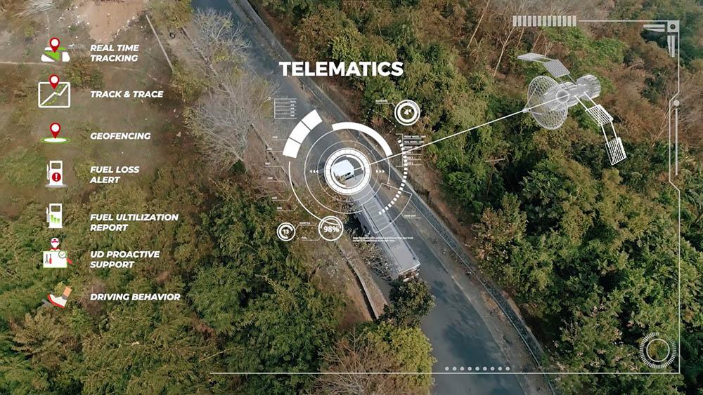 Mengenal Sistem UD Telematics pada Truk Quester