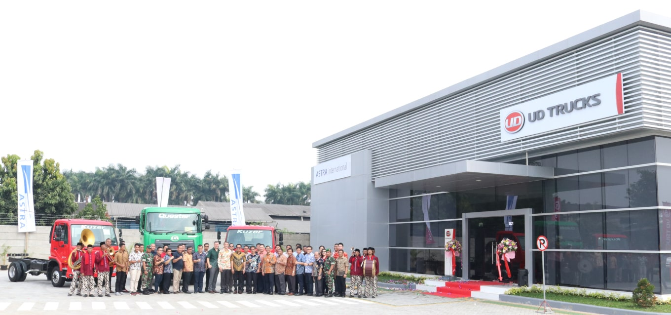 Astra UD Trucks Officially Opens a Branch Office in Tangerang